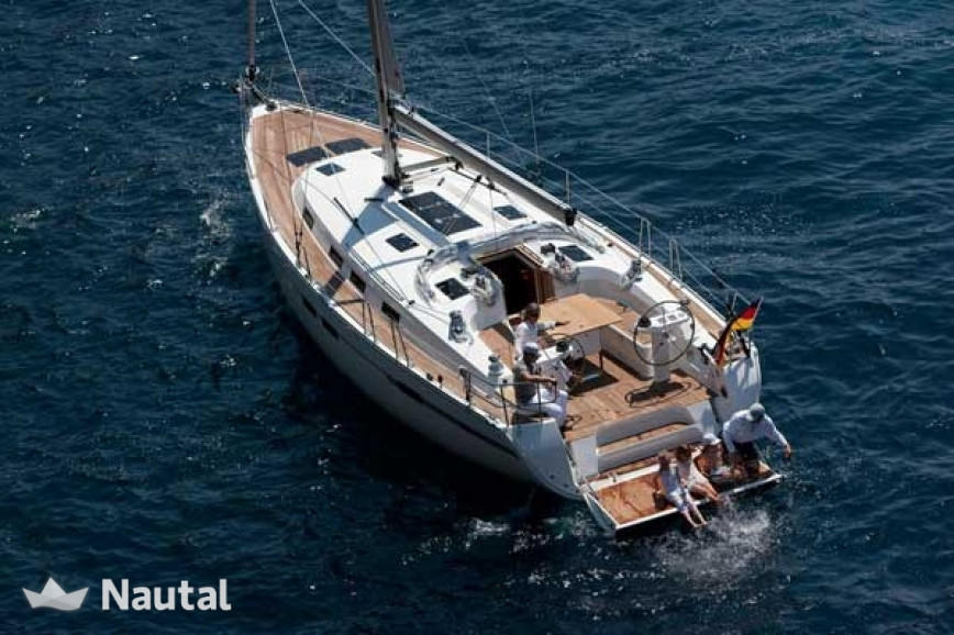 Sailing boat rent Bavaria  Cruiser 45 (4Cab) in Marina Lauterbach, Baltic Sea - Rugen