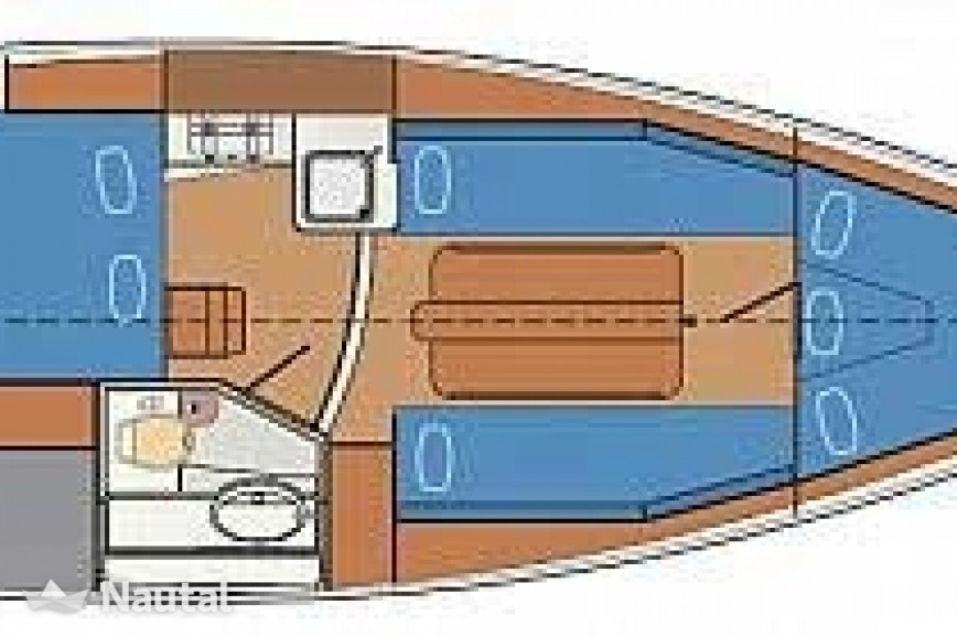 segelboot chartern delphia yachts delphia 28 im nixe yachthafen berlin wannsee nautal. Black Bedroom Furniture Sets. Home Design Ideas