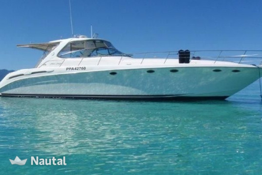 Motorboat rent Sea Ray 54 in Miami Beach, South Florida