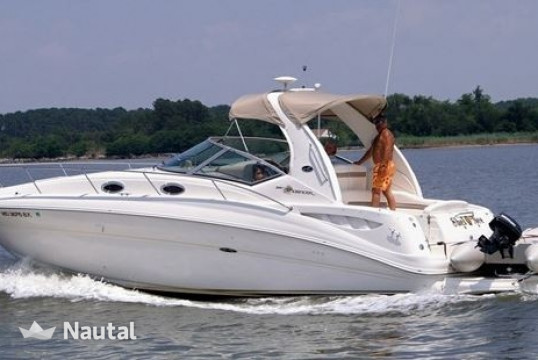 Motorboat rent Sea Ray Sports Cruiser 320 in Miami Beach, South Florida