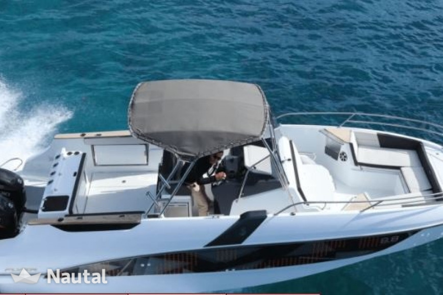 Motorboat Rent Beneteau Flyer 8 8 Spacedeck In Port De Saint Cyprien