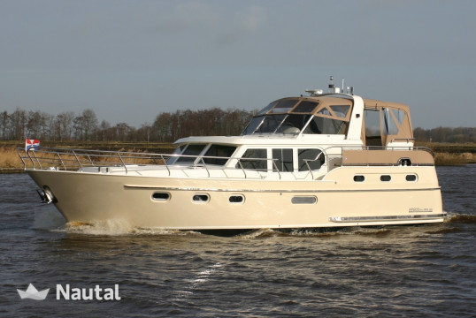 Huur motorjacht Custom made Argos Line in Watersportboulevard 't Ges, Friesland