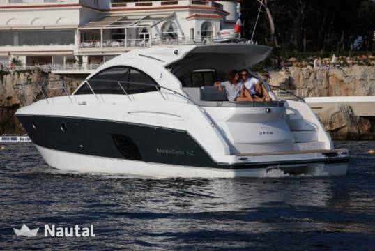 Motorboat rent Montecarlo 42 in Port Pierre Canto, Alpes Maritimes - Cannes