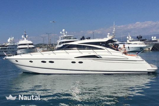 Yacht rent Princess V58 in Port Pierre Canto, Alpes Maritimes - Cannes