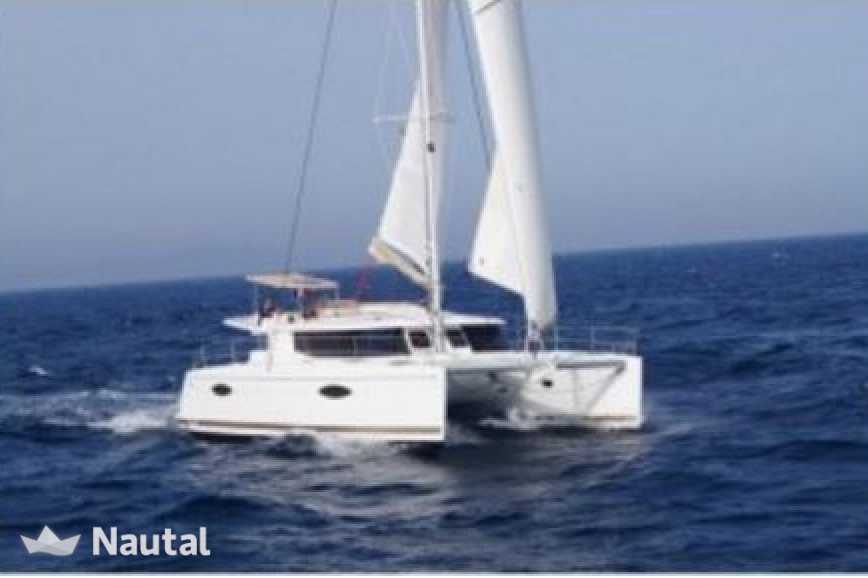 Huur catamaran Fountaine - Pajot Helia 44 in Key West Harbour, Florida Keys
