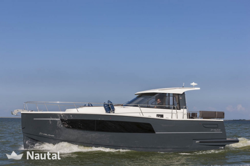 Motorboat Rent Delphia Yachts Delphia Escape 1100 Soley In Marina