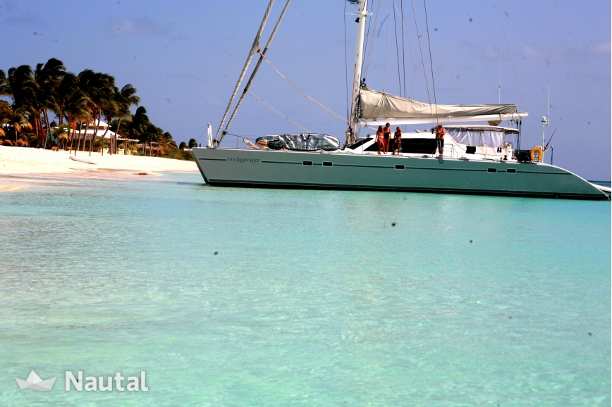 Catamaran rent lagoon lagoon 67 in marina port la royale - Marina port la royale marigot st martin ...