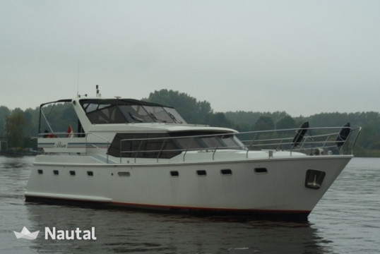 Huur motorjacht Custom made Aquacraft 1400 in Zoutepoel, Friesland