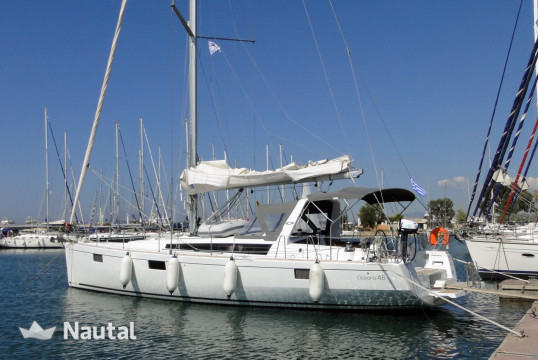 Sailing boat rent Beneteau Oceanis 48 in Lavrio Port, Athens