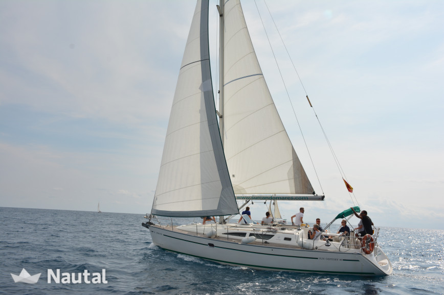 Sailing boat rent Jeanneau Sun Odyssey 40 in Sitges, Barcelona
