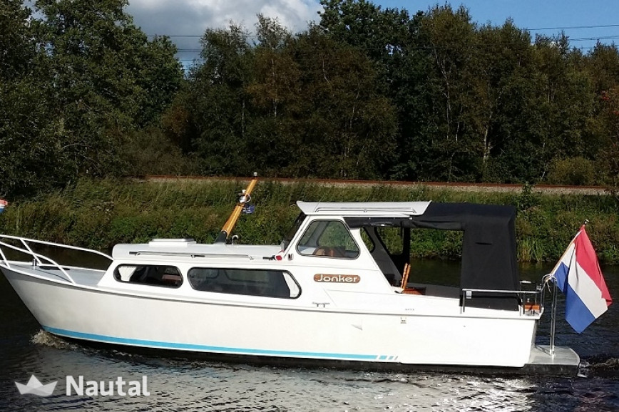 Motorboat rent Custom made Jonker in Heerenveen, Friesland