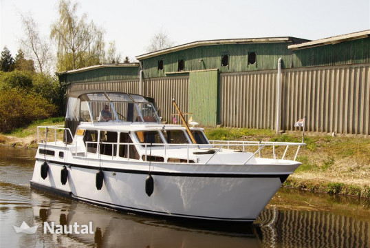 Motorboat rent Custom made MMS Cruiser in Marknesse, Flevoland