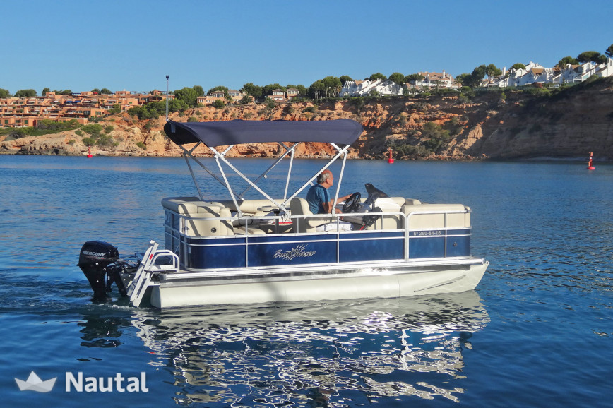 Motorboat rent Sunchaser 7516 Cruise in Port d'Andratx, Mallorca