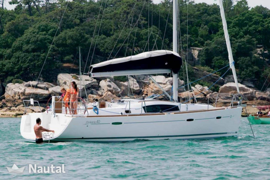 Sailing boat rent Beneteau Oceanis 40 in Port Olímpic, Barcelona