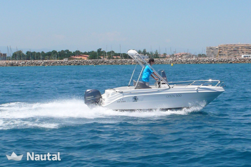 Pacific Craft 500 Open Based In Saint Cyprien Nautal