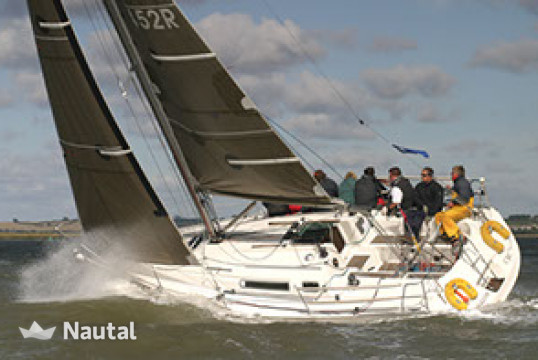 Sailing boat rent Jeanneau Sun Fast 32i in Port Blanc, Gulf of Morbihan