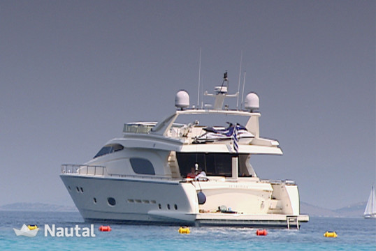 Yacht rent Ferretti - in Athens Marina, Athens
