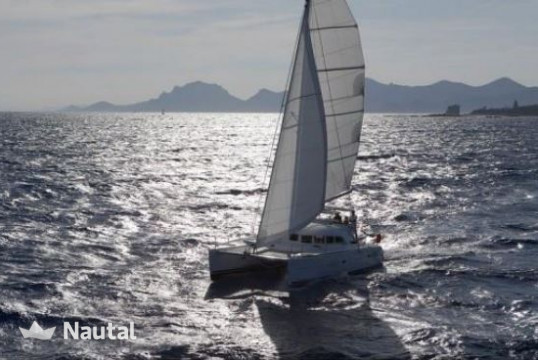 Catamaran rent Lagoon 380 S2 in Talamanca, Ibiza