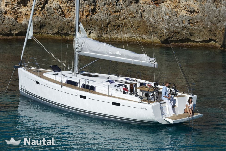 Sailing boat rent Hanse 415 in Port de Sant Antoni, Ibiza