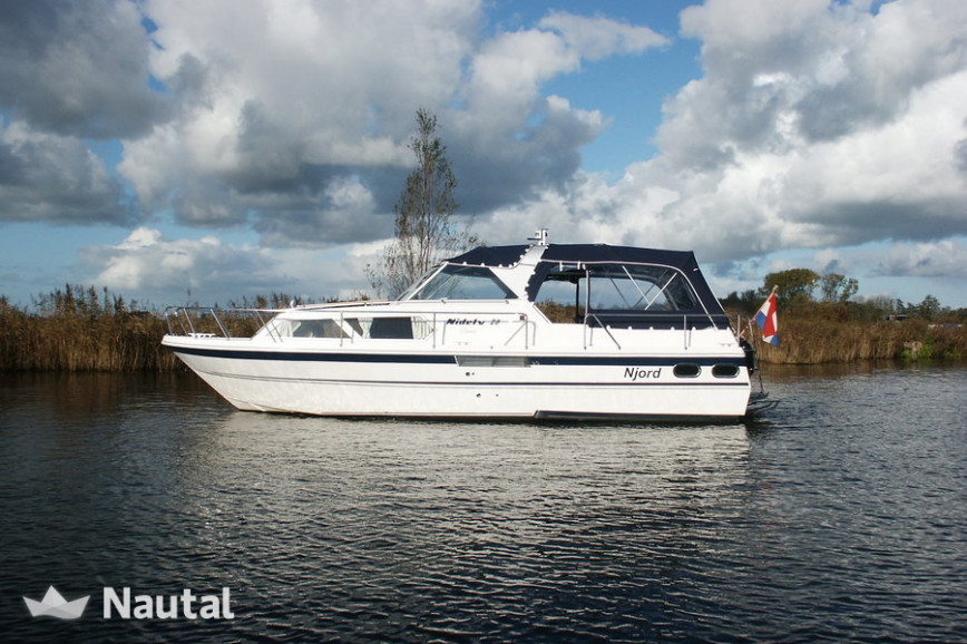 Huur motorboot Nidelv 28 in Terkaple, Friesland