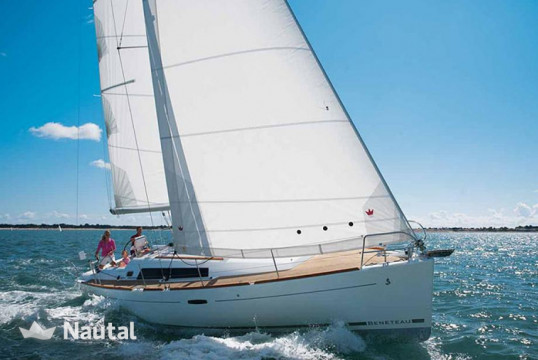 Sailing boat rent Beneteau Oceanis 37 in Lavrio Port, Athens