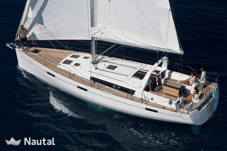 Sailing boat rent Beneteau 45ft  in DuSable Harbor, Chicago