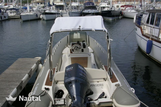 Rib rent Capelli Tempest 626 in Saint-Tropez, Var