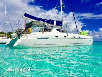 Catamaran rent Fountaine Pajot Bahia 46 in Port de Sainte-Rose, Guadeloupe