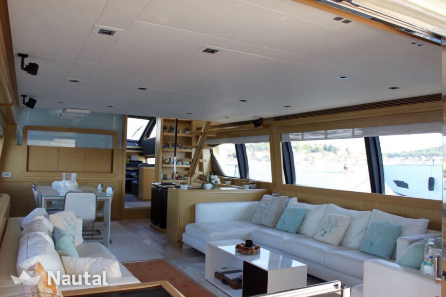 Yacht rent Pershing 80 in Miami Beach, South Florida