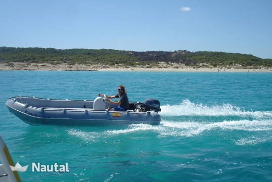 License free boat rent Whaly whaly 435 in Port de Pollença, Mallorca