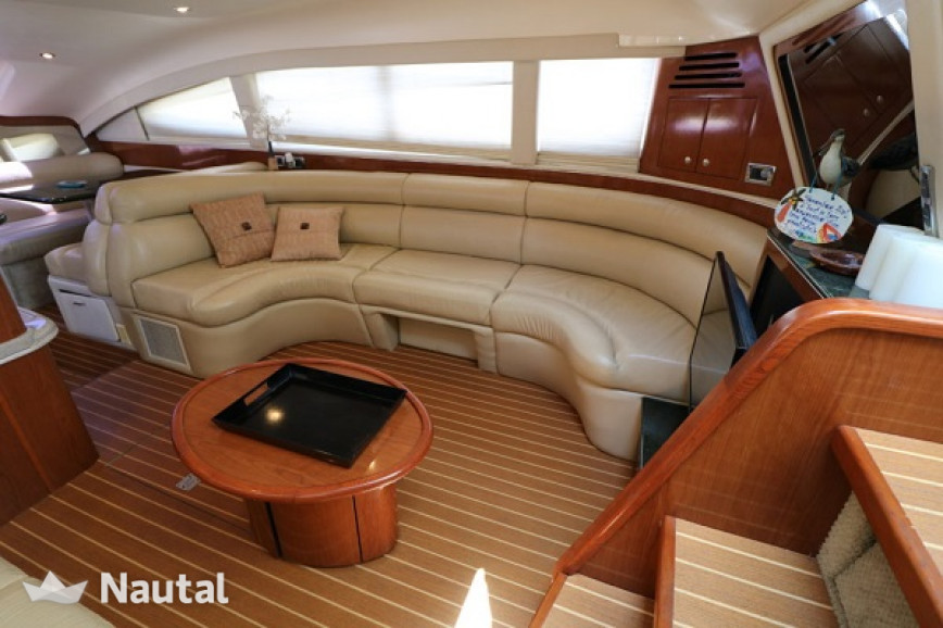 Motorboat rent Sea Ray 480 in Miami Beach, South Florida