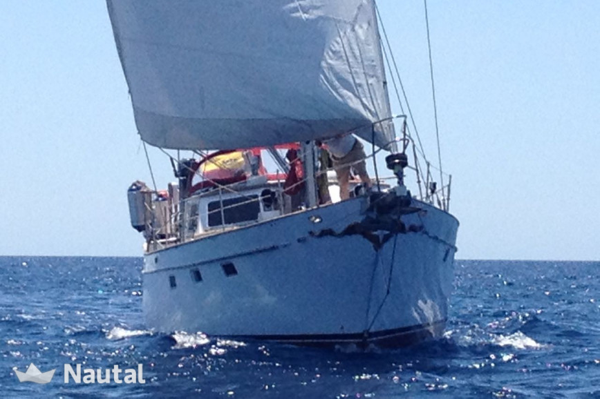 Sailing boat rent Belliure 50 MS in Port d'Andratx, Mallorca