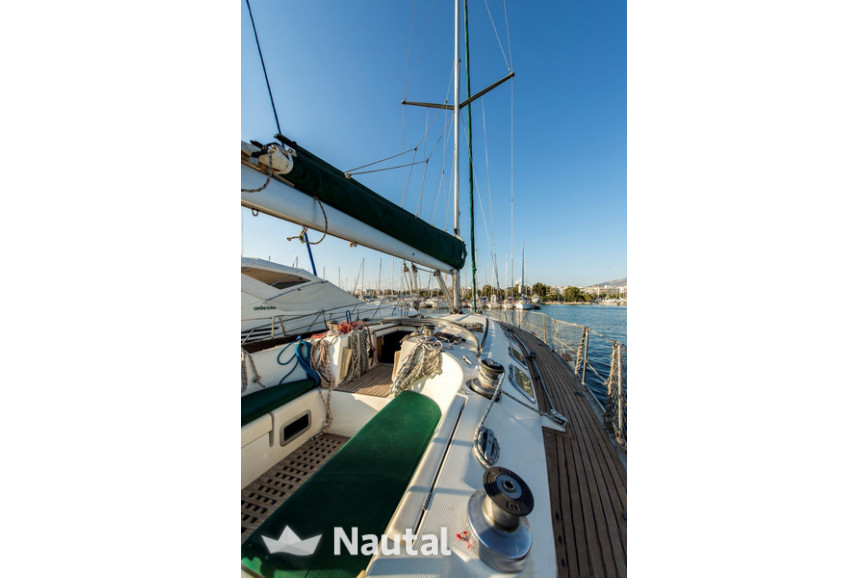 Sailing boat rent Beneteau First 45F5 in Limmín Salamis, Athens