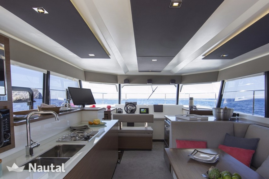 Catamaran rent Fountaine Pajot Motor Yacht 37 with A/C in Harbour View Marina Marsh Harbour, Bahamas
