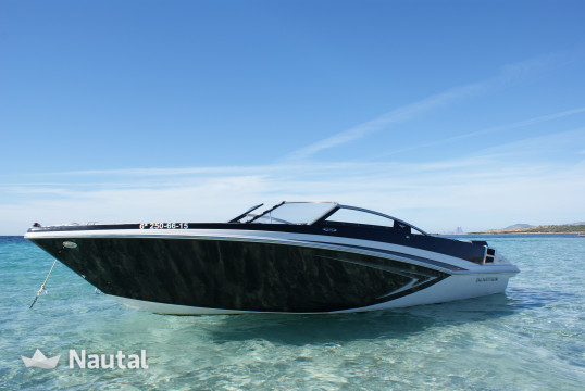 Motorboat rent Glastron GT 225 in Port d'Eivissa, Ibiza