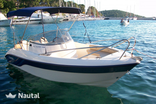 Motorboat rent Poseidon Blue Water 540 in Port Trogir, Split, Hvar