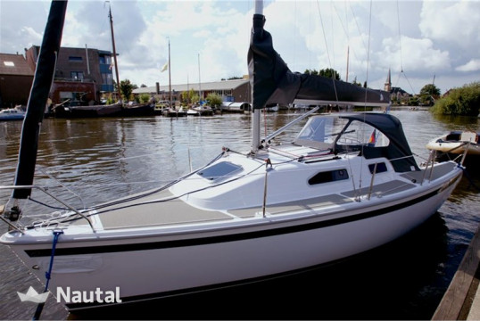 Huur zeilboot Sailart  24 in Hindeloopen, Friesland