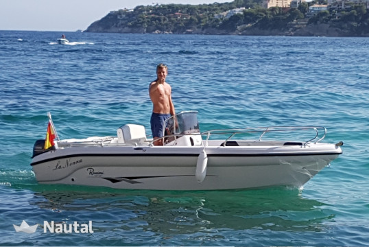 License free boat rent Ranieri E17 in Puerto de Palma, Mallorca