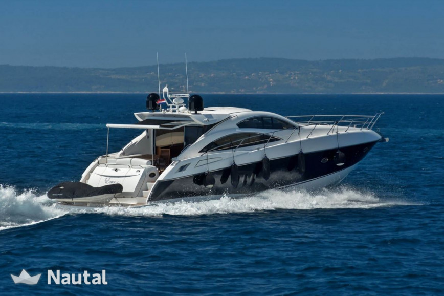 yacht rent sunseeker international sunseeker predator 62