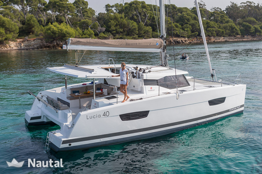 Catamaran rent Lucia Lucia 40 in Pointe-à-Pitre, Guadeloupe