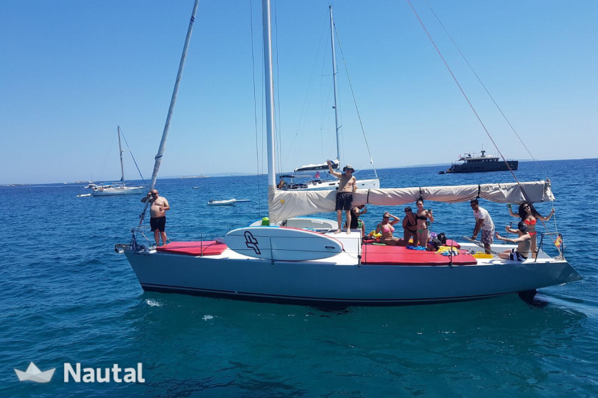 Sailing boat rent Custom made One Tonner in Ses Salines, Ibiza