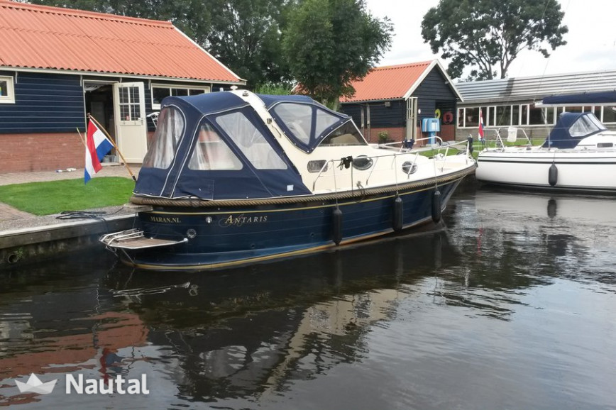 Huur sloep Antaris Cabinato in Terkaple, Friesland