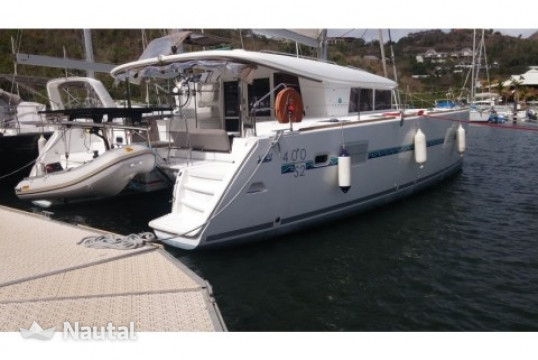 Catamaran rent Lagoon  400 S2  in Anse Marcel, Saint Martin