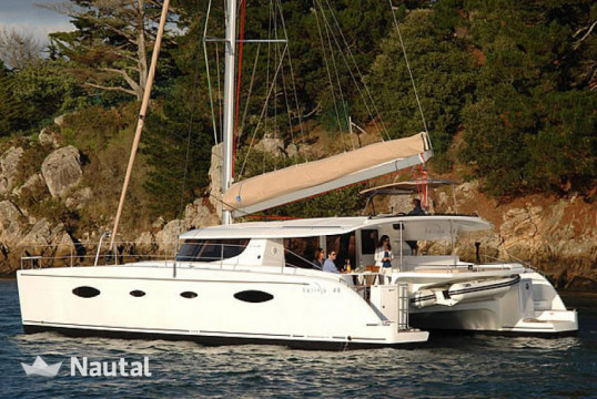 Catamaran rent Fountaine Pajot Salina 48 evolution with A/C in Harbour View Marina Marsh Harbour, Abacos