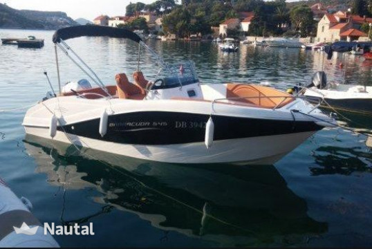 Motorboat rent Barracuda Yachts 585 in Sitges, Barcelona