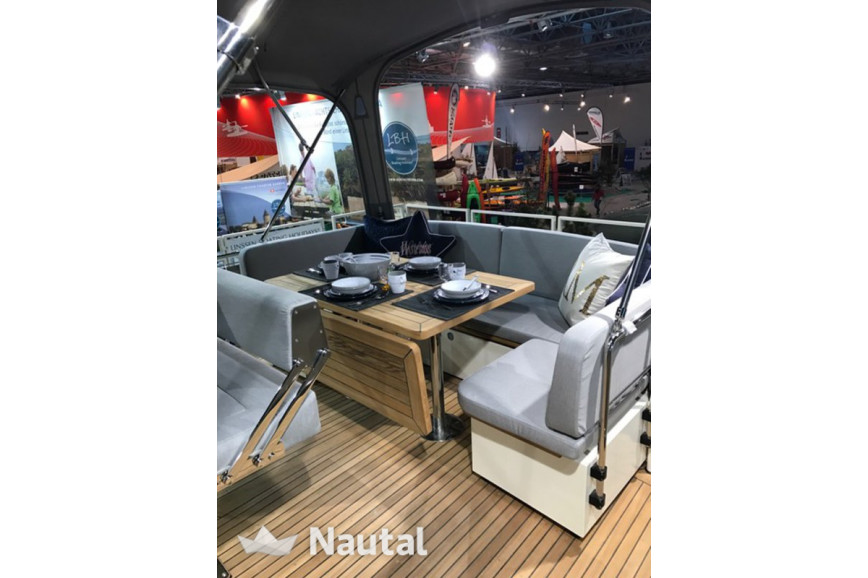 Houseboat rent Linssen Yachts Grand Sturdy 410 in Watersportboulevard 't Ges, Friesland