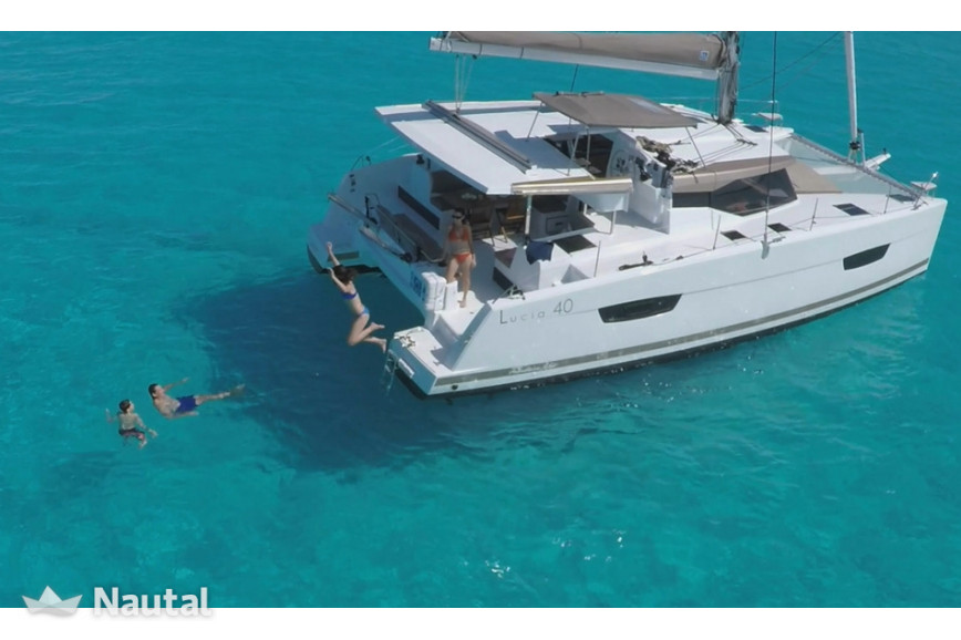 Catamaran rent Lucia  40 in Port Santa Lucia, Var - Saint-Raphaël