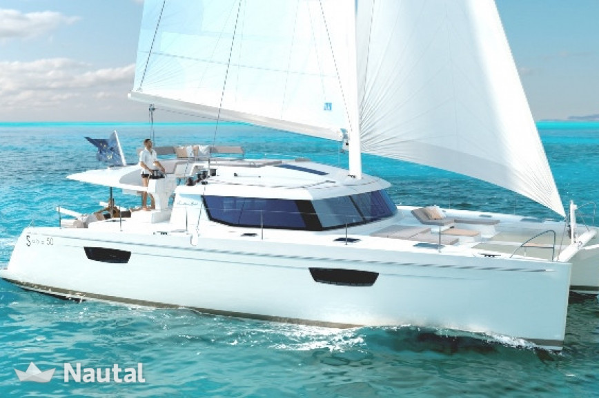 Catamaran rent Fontaine Pajot Saba 50 in Inner Harbor, British Virgin Islands