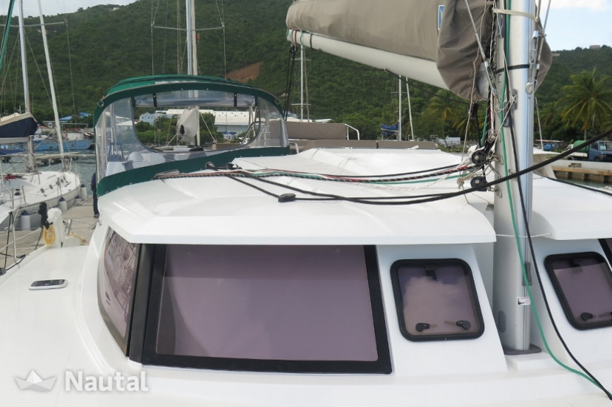Catamaran rent  Helia 44 in Inner Harbor, British Virgin Islands