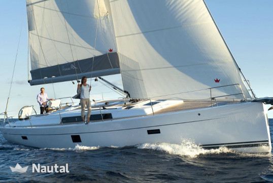 Sailing boat rent Hanse Yachts Hanse 455 in Lavrio Port, Athens